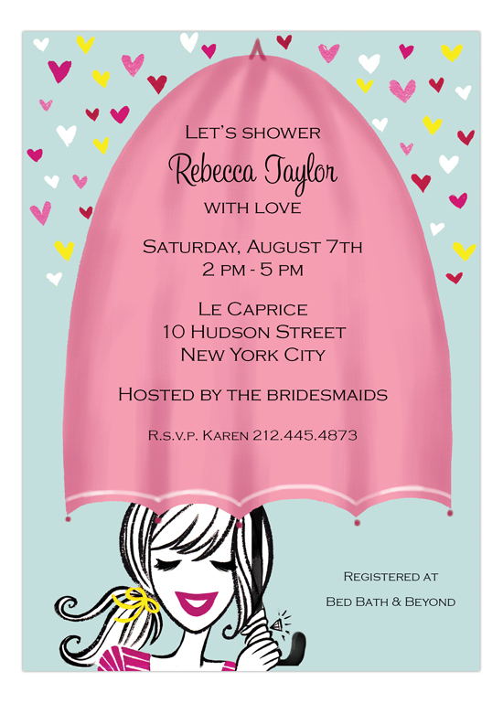 Shower with Love Invitation