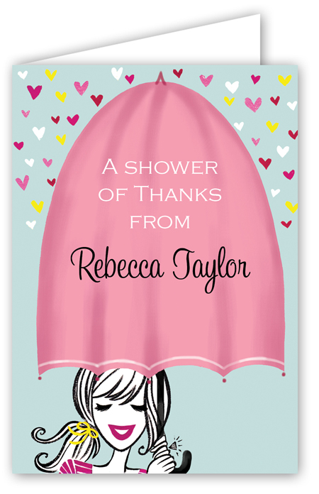 Shower with Love Note Card