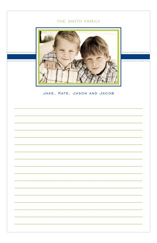 Simply Preppy Notepad