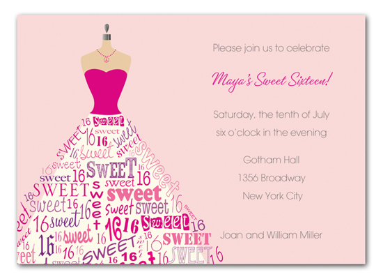 sixteen-dress-form-invitation-bsp-sdfip Get Ready for the Polka Dot Design Big Clearance Sale!