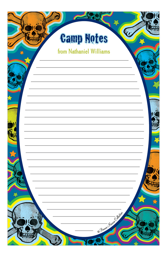 Skull Camp Notepad