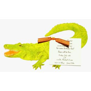Alligator Invitation