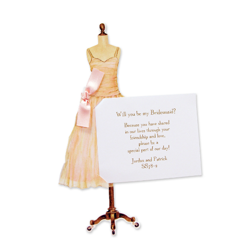 Pink Dress Invitation