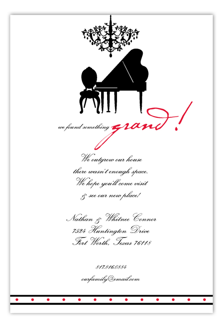 Something Grand Invitation