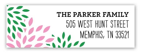 Southern Charm Derby Address Label