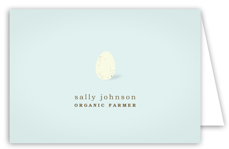 Speckled Egg Note Card