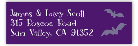 Spooktacular Address Label