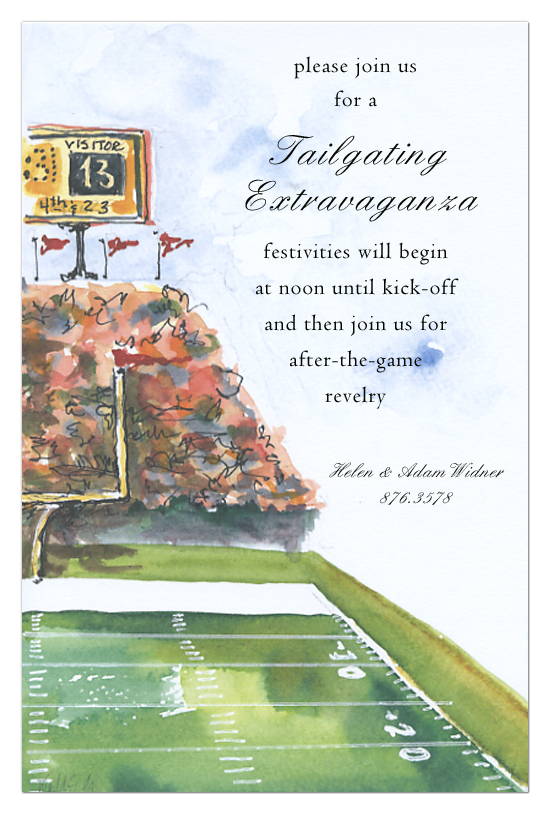 Stadium Invitation