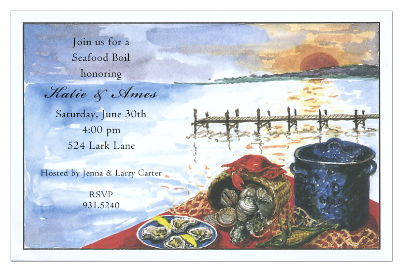 Steamers Invitation