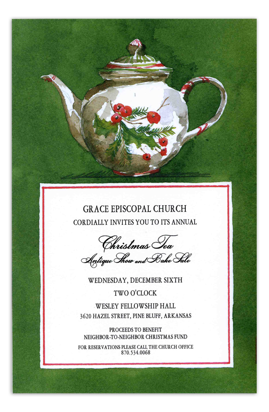 Steeped in Tradition Invitation