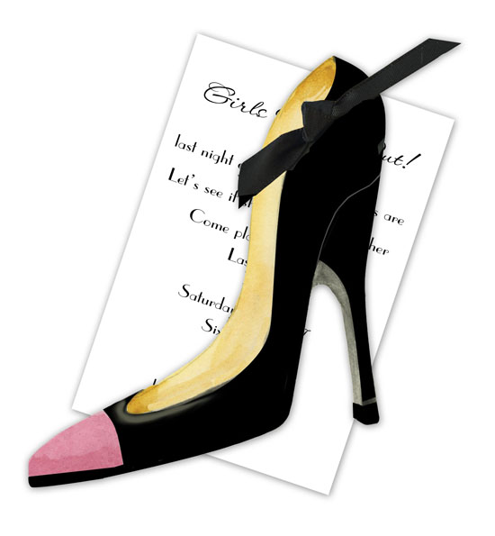 Stiletto Invitation