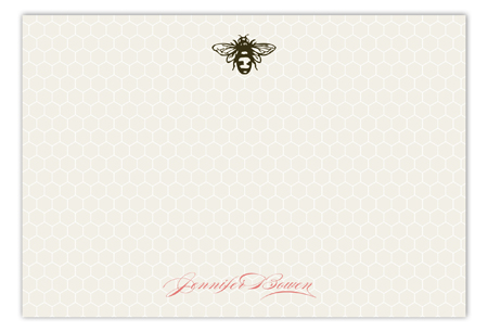 Sweet Bee Flat Note Card