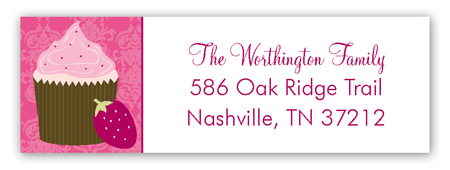 Sweet Beginnings Address Label