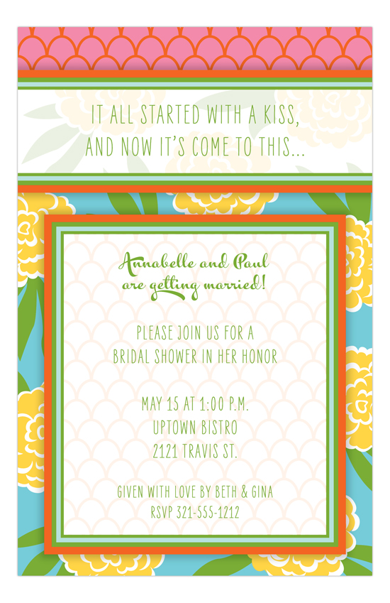 Sweet Meadows Invitation