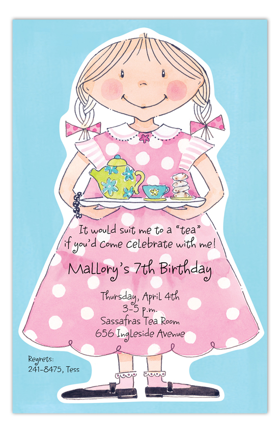 Sweet Tea Girl Invitation