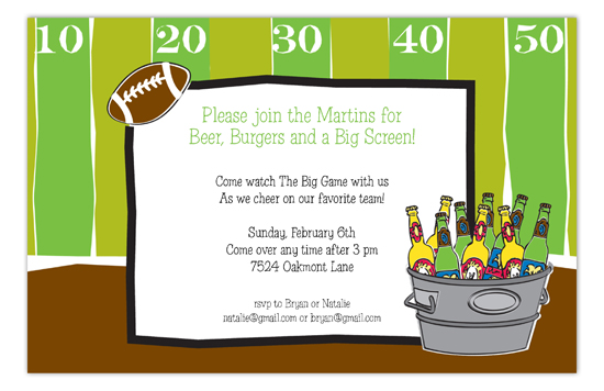Tailgate Party Invitation