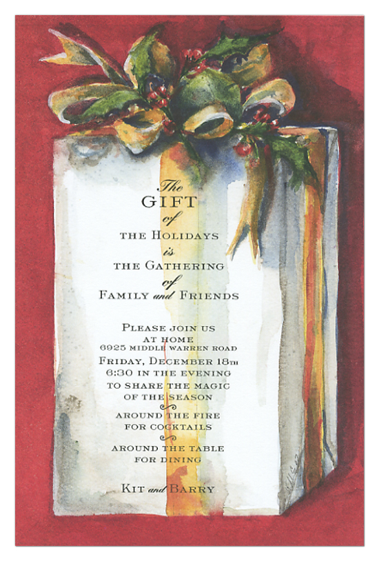 The Gift Invitation