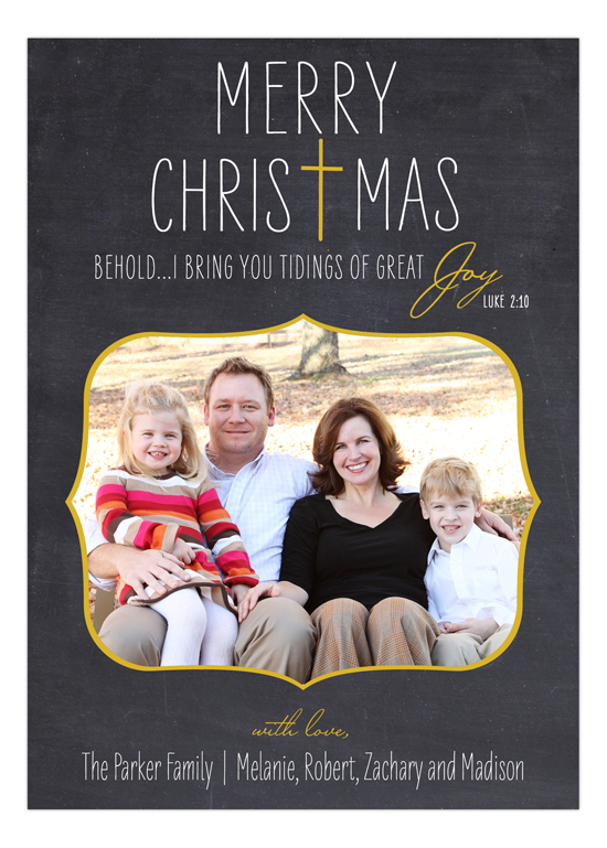 Tidings of Great Joy Photo Card