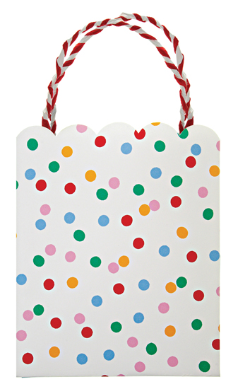 Toot Sweet Spotty Favor Bags