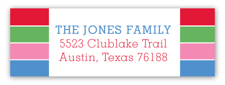 Top 12 of 2012 Address Label