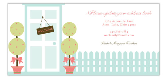 Topiary Landscape Invitation