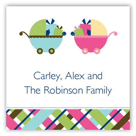 Twin Carriage Gifts Gift Tag