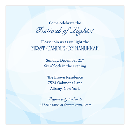 Warm Winter Wishes Invitation