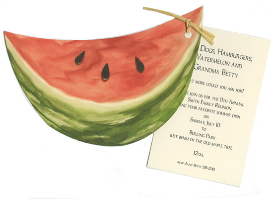 Watermelon Summer Party