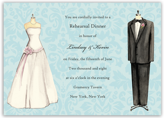 Wedding attire invitation polkadotdesign wedding attire invitation junglespirit Gallery