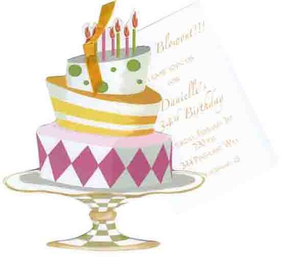 Whimsical birthday cake invitation filmwisefo