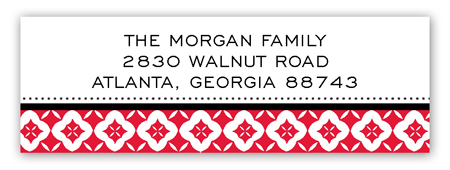 Winter Icon Address Label