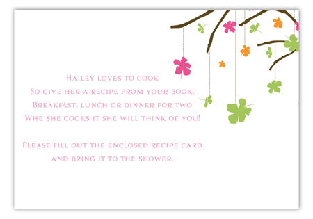 Wishing Tree Enclosure Card