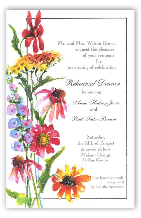 Yarrow and Friends Invitation