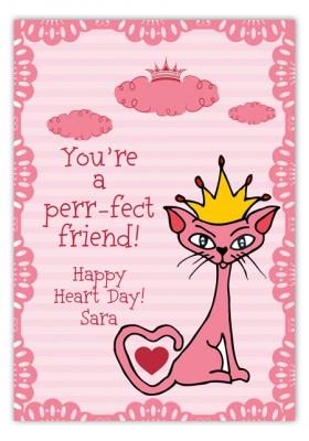 Princess Valentine Card
