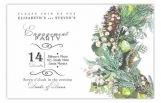 Mixed Botanical Invitation