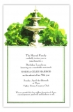 Stone Fountain Invitation