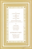 Stripe Camel Border Invitation