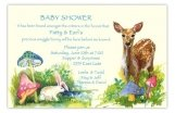 B&B Bunny & Bambee Baby Shower Invitation