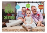 A Merry Little Christmas Photo Card