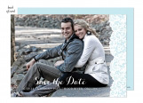 Blue Lace Wedding Suite Save the Date