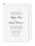 Chantilly Lace Wedding Suite Invitation