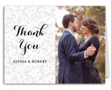 Chantilly Lace Wedding Suite Thank You Note