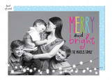 Colorful Holiday Photo Card