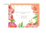 English Rose Garden Wedding Suite Response Card