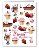 Valentine Desserts Card