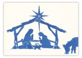 Holy Night Christmas Card