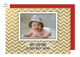 Happy Chevron Photo Card