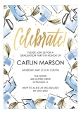 Hats Off Invitation High School Graduation Announcements