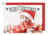 Merry Christmas Garland Photo Card