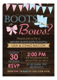 Boots or Bows